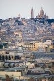 Sacre Coeur en Montmartre imagenes de archivo