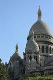 Sacre Coeur en París Imágenes de archivo libres de regalías