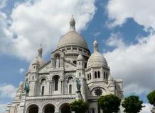 Sacre Coeur en París, Francia Fotos de archivo