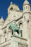 Sacre-Coeur, fragment, Paris, France Image stock