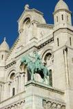 Sacre-Coeur, fragment, Paris, France Stock Image