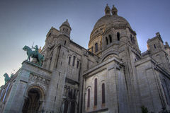 Sacre Coeur HDR Stock Photography