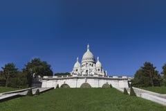 Sacre-Coeur i Montmartre Arkivbilder