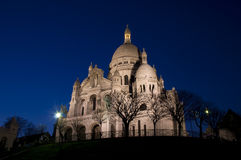 Free Sacre Coeur In The Night Royalty Free Stock Photo - 5217815