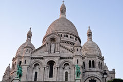 Sacre Coeur Kirche in Paris Frankreich Lizenzfreie Stockfotografie