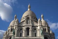 Sacre Coeur, Montmartre, Париж, Франция Стоковое фото RF