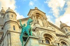 Sacre-Coeur Montmartre fotos de stock