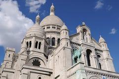 Sacre-Coeur, Montmartre imagen de archivo libre de regalías