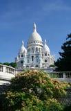 Sacre-Coeur, Montmartre, Parijs Stock Fotografie