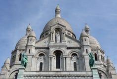 Sacre-Coeur Montmartre Parijs Stock Afbeeldingen