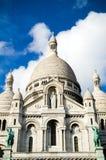 Sacre Coeur in Montmartre, Parijs Stock Afbeeldingen