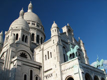 Sacre Coeur, Montmartre, Paris. Sacre Coeur basilica in Montmartre, Paris Royalty Free Stock Photo