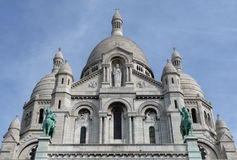 Sacre-Coeur Montmartre Paris Images stock