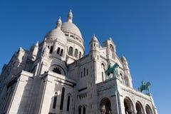 Sacre Coeur, Montmartre. Paris. Royalty Free Stock Photo