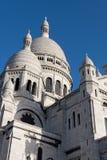 Sacre Coeur, Montmartre. Paris. Images libres de droits