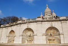 Sacre Coeur, Montmartre, Paris Stock Photos