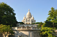 SACRE-COEUR, MONTMARTRE, PARIS Photo stock