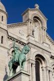 Sacre Coeur, Montmartre, Paris Stock Photo