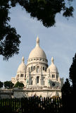 Sacre Coeur, Montmartre, Paris Stock Photos