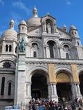 Sacre-Coeur, Montmartre, Paris Stock Photo