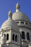 Sacre-coeur, montmartre, paris, france. Vertical royalty free stock photography