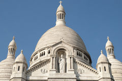 Sacre coeur a Montmartre, Paris, France Royalty Free Stock Images
