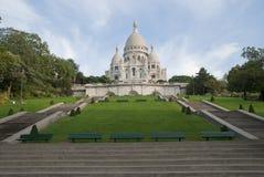 Sacre coeur a Montmartre, Paris, France Royalty Free Stock Photography
