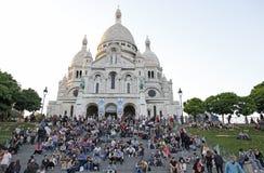 Sacre-Coeur,Montmartre, Paris France Royalty Free Stock Photography