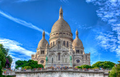 Sacre Coeur, Montmartre, Paryż Zdjęcie Stock