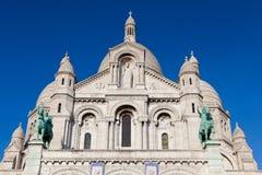 Sacre Coeur, Montmartre, Paryż, Francja Obrazy Stock