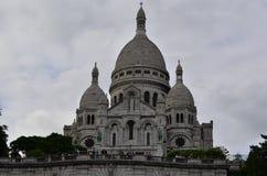 Sacre Coeur, Montmatre Παρίσι Γαλλία Λεπτομέρειες προσόψεων Στοκ εικόνες με δικαίωμα ελεύθερης χρήσης