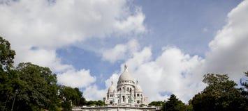 Sacre Coeur panorâmico Foto de Stock