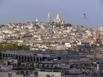 Sacre Coeur panorama Stock Photography