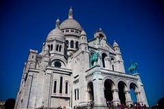 Sacre-Coeur, París Foto de archivo