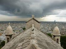 Sacre-Coeur París Fotos de archivo libres de regalías