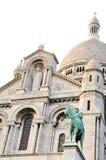 Sacre-Coeur a Parigi Fotografia Stock Libera da Diritti