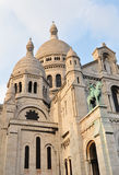 Sacre-Coeur a Parigi Fotografie Stock Libere da Diritti