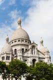 Sacre Coeur a Parigi Fotografia Stock