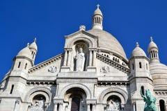 Sacre-Coeur a Parigi Immagini Stock Libere da Diritti