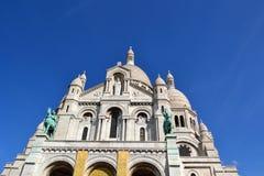 Sacre-Coeur a Parigi Fotografia Stock