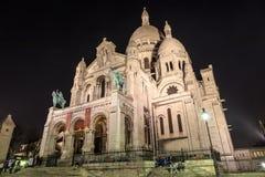 Sacre Coeur, Parigi Immagini Stock
