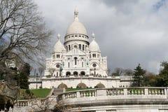 Sacre Coeur a Parigi Fotografie Stock