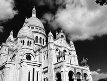 Sacre Coeur - Parigi Fotografia Stock