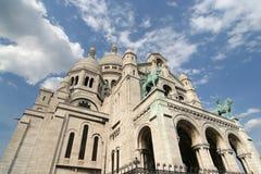 Sacre Coeur in Parijs Stock Afbeelding