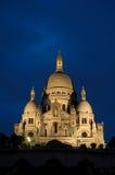 Sacre Coeur in Parijs Royalty-vrije Stock Afbeelding