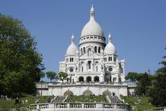 Sacre Coeur - Parijs royalty-vrije stock afbeelding