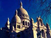 Sacre Coeur Parijs Stock Afbeeldingen