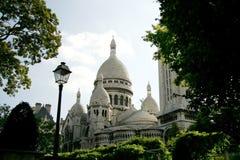 Sacre Coeur, Parijs, Frankrijk Stock Afbeeldingen
