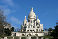 Sacre Coeur in Parijs Frankrijk Stock Fotografie