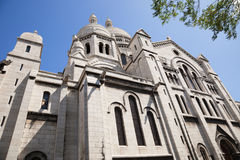 Sacre Coeur of Paris stock photo